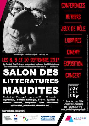Affiche-salon-litteratures-maudites-2017-charleville-84,1cm-x-118,9cm-noir
